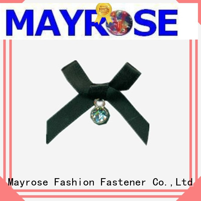 pendant polyester chiffon Mayrose Brand bra with bow