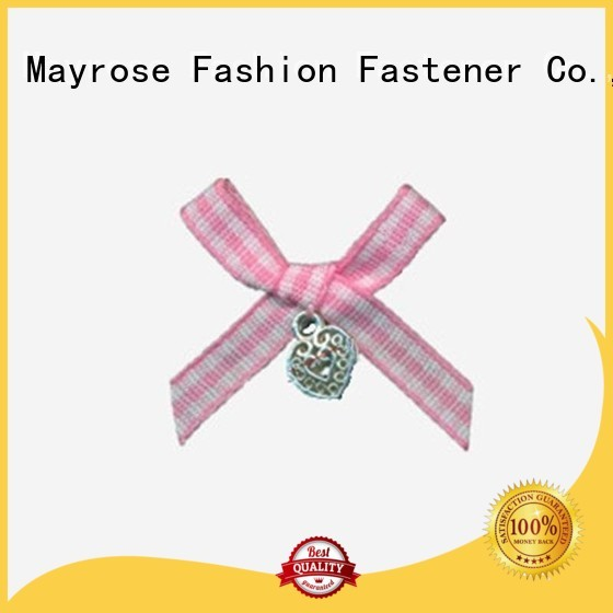 ribbon rhinestone wire ribbon bow nylon bow Mayrose Brand