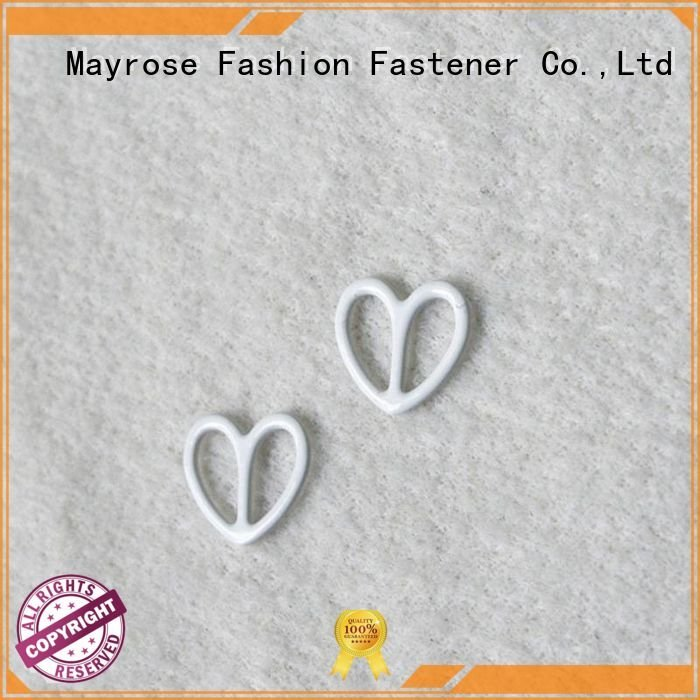 Mayrose Brand coated hook bra strap adjuster clip nylon star