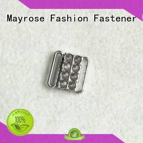 OEM bra strap buckle pearl shape bra adjuster racerback