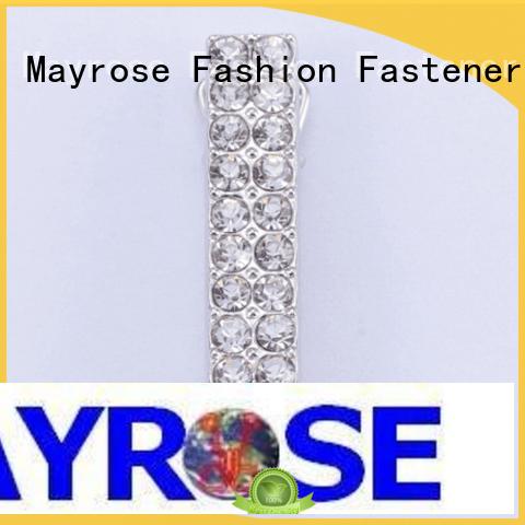 Mayrose Brand shape zinc front buckle bra strap buckle