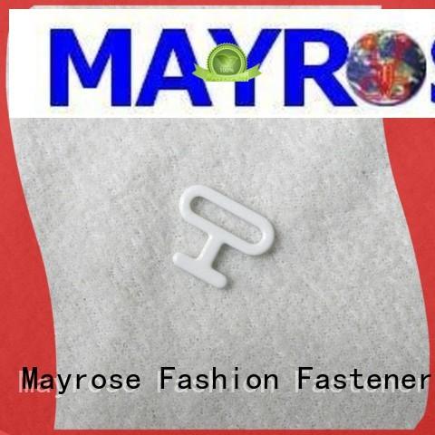 coated bra strap adjuster clip buckle Mayrose company