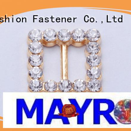 clasps Custom closure bra strap buckle alloy Mayrose