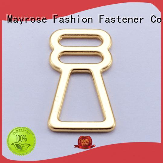 from gold OEM bra strap adjuster clip Mayrose