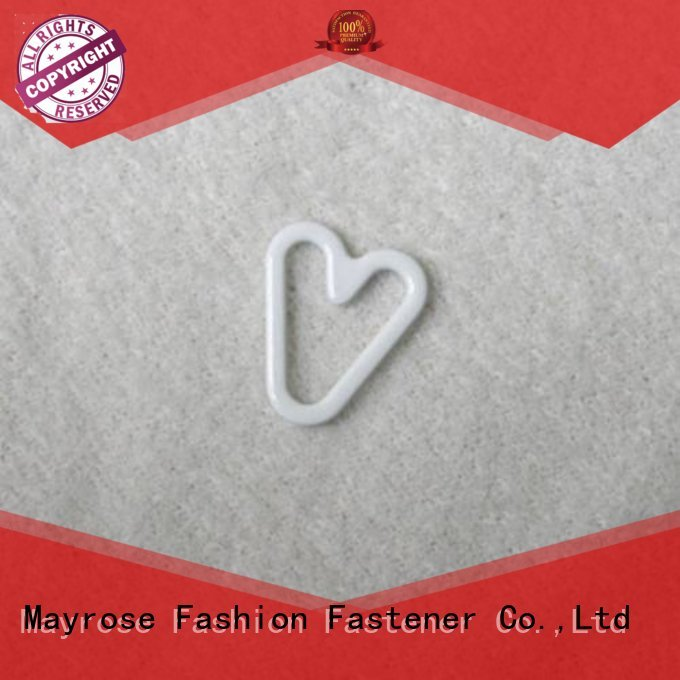 30mm Custom coated buckle bra strap adjuster clip Mayrose clips
