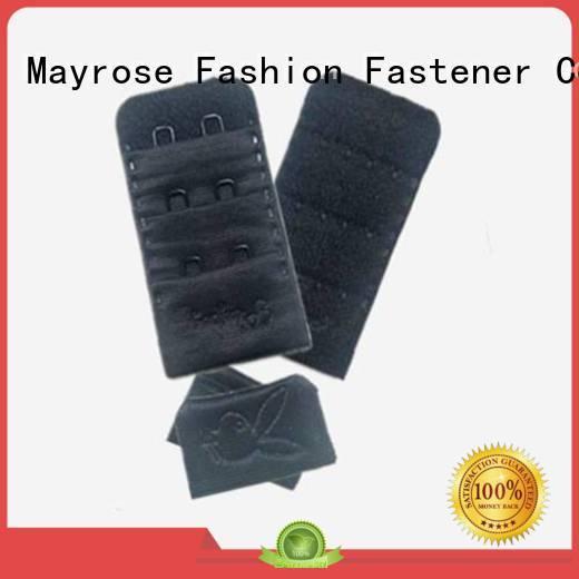 back all stainless Mayrose Brand bra extender 4 hook manufacture