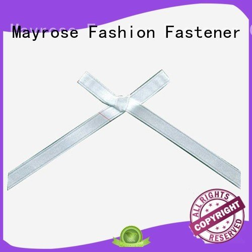 Wholesale polyester ribbon bra with bow Mayrose Brand