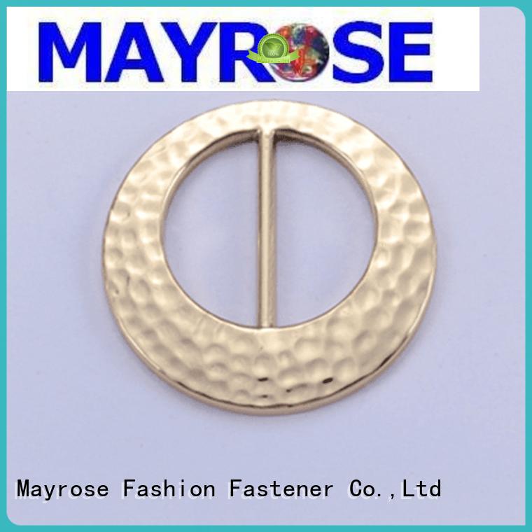 Quality Mayrose Brand fancy bra strap buckle