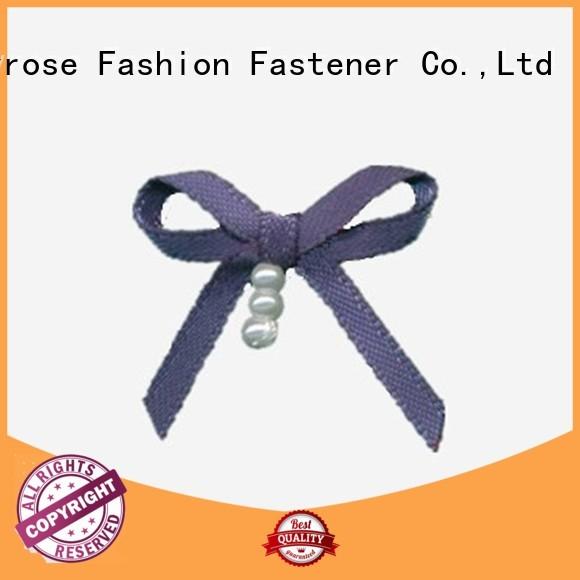 nylon ribbon diamond bra with bow Mayrose