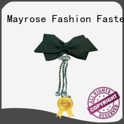bow flower chiffon Mayrose Brand bra with bow