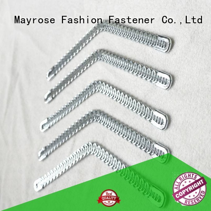 plastic shape steel boning curved Mayrose company