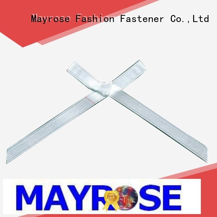 wire ribbon bow ribbon diamond Mayrose Brand bra with bow
