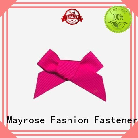 Mayrose Brand diamond flower wire ribbon bow pendant supplier