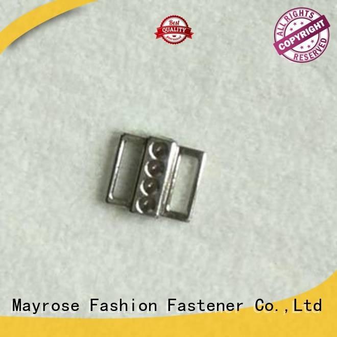 shape rhinestone swimwear bra strap buckle Mayrose